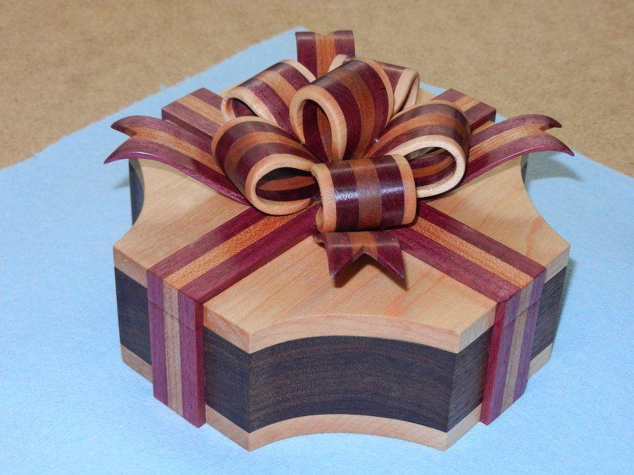 Scroll Saw Ribbon Box By Retiredcoastie Lumberjocks