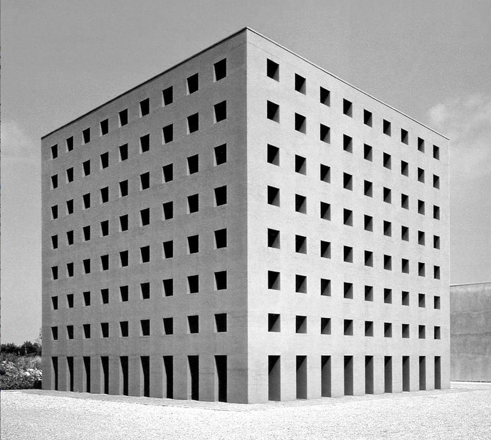 Aldo Rossi, The Cemetery Of San Cataldo, Modena, 1972