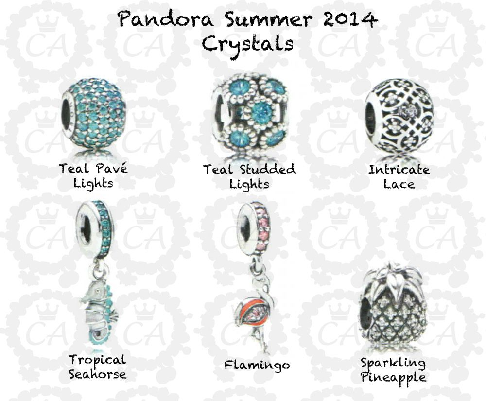 Pandora summer collection 2014 crystals like capri for Pandora jewelry amarillo tx