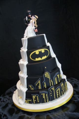 Batman Wedding Cake Wedding In 2019 Batman Wedding