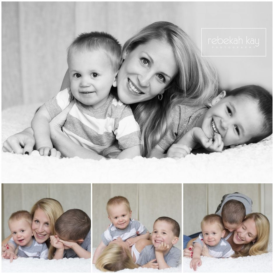 Rebekah Kay Photography Studio Windham NH Mommy and me session