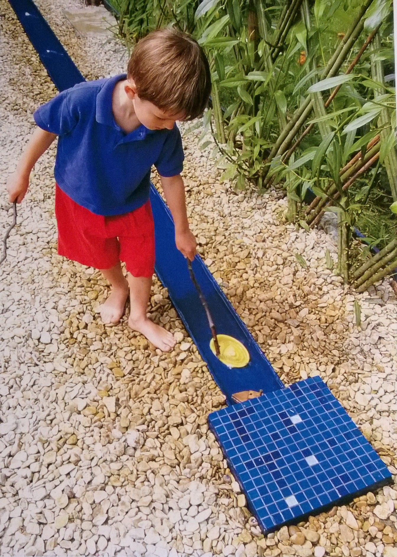 Wasserstrasse Fur Den Garten Kinder Garten Garten Kinder