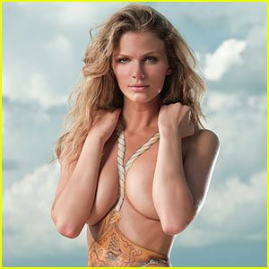 swimsuit body Brooklyn decker paint