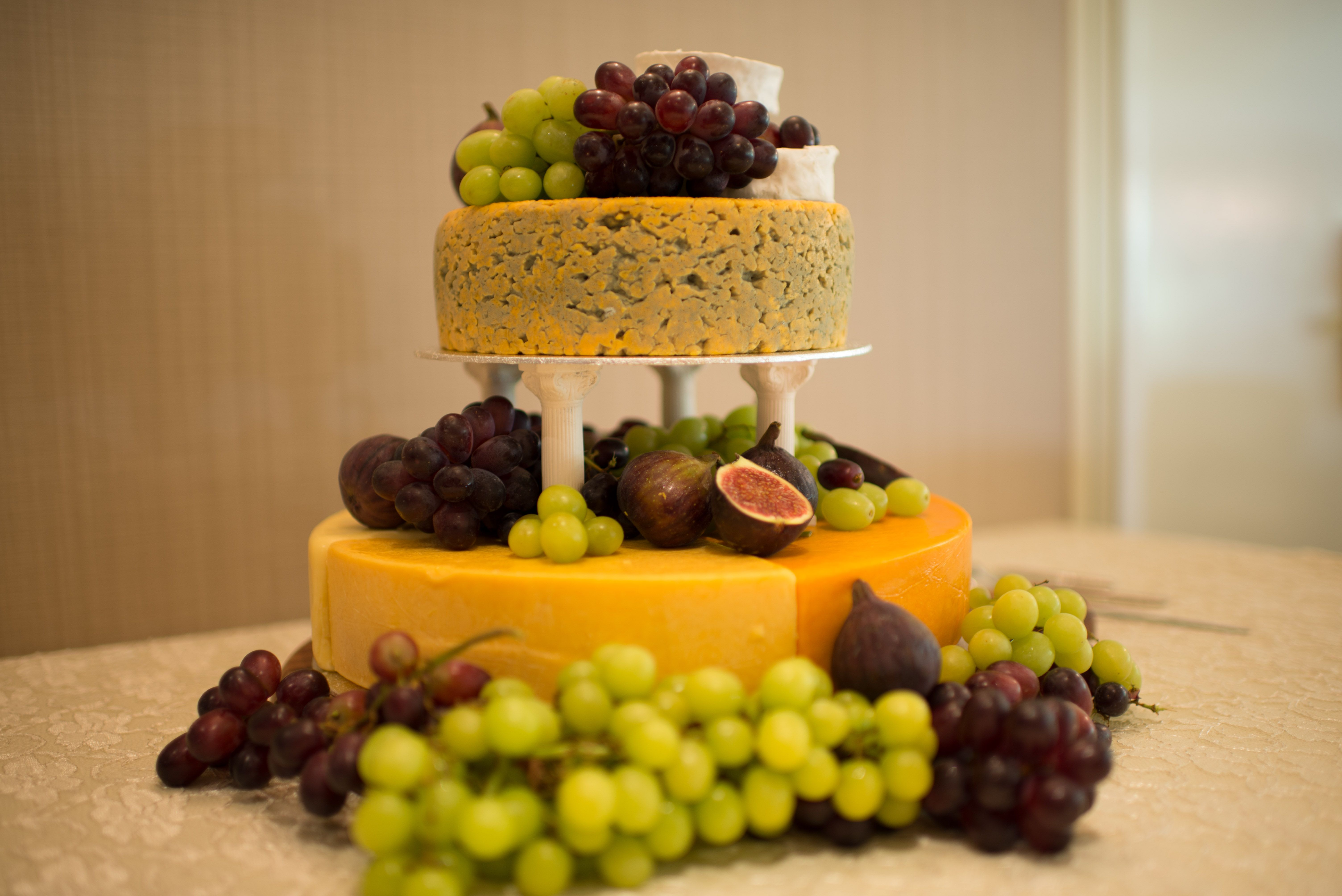 Cheese Wedding Cake / Cheese Cake / Cheese Truckle Cake / Cheese and ...