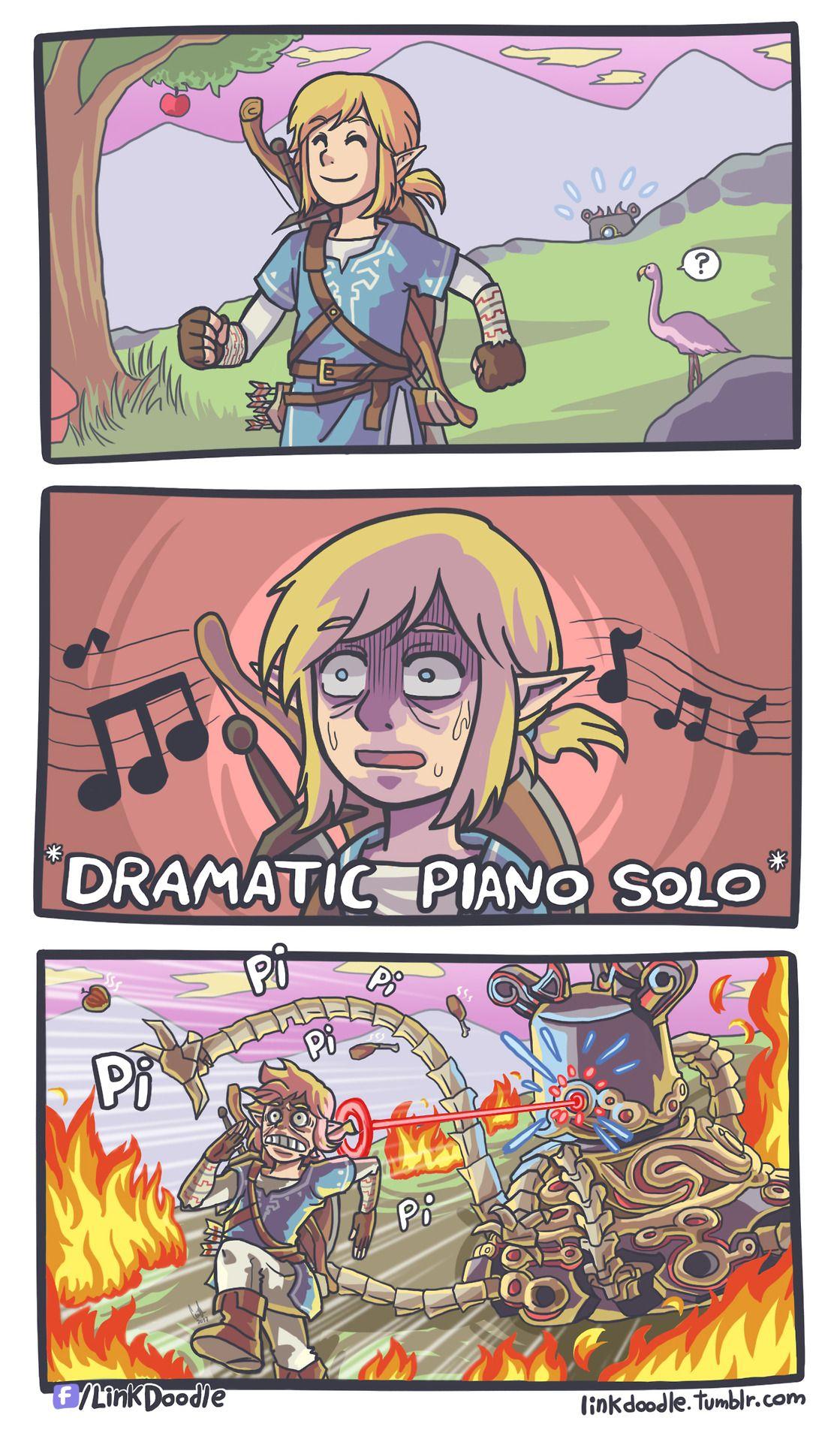 Zelda Breath Of The Wild Funny Zelda Legend Of Zelda Zelda