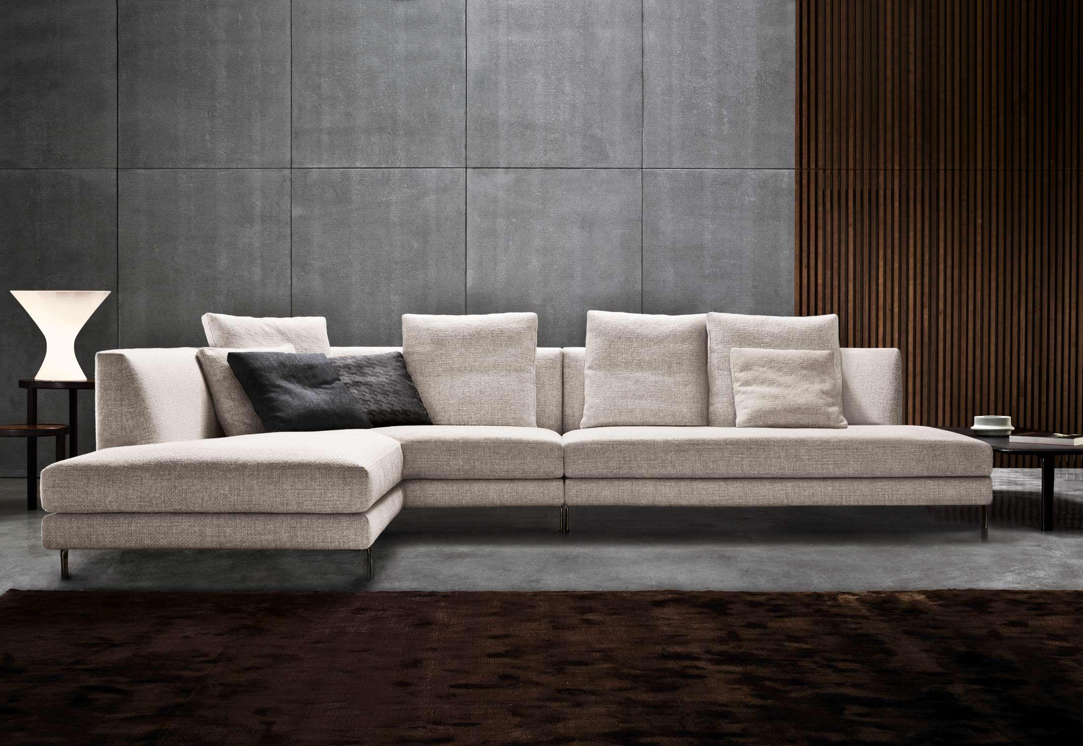Allen von minotti sofas design bei stylepark couch for Divani minotti