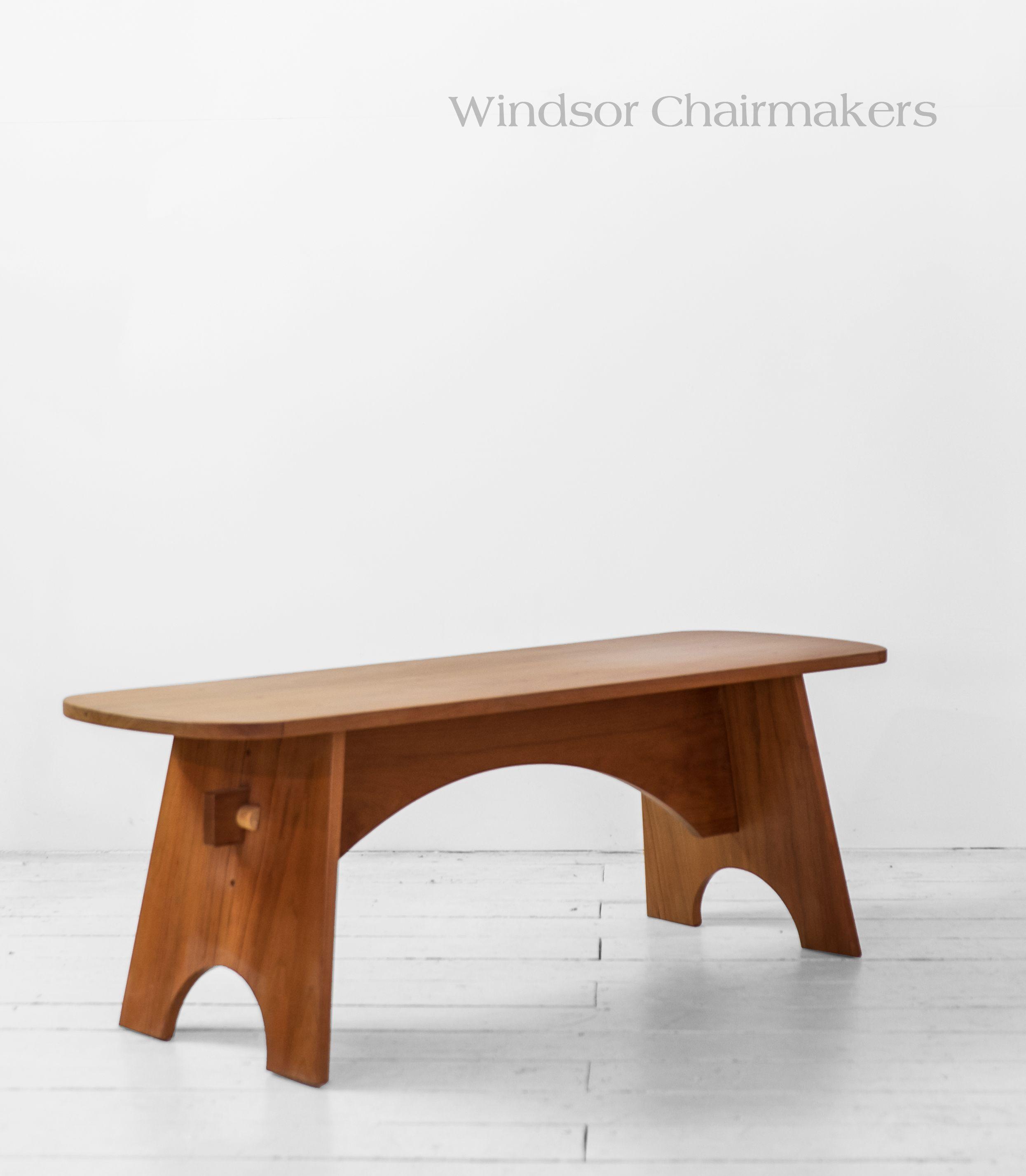 trestle copy hills mission furniture fine benches handmade bench amish shop