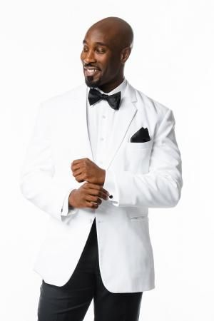 tux rental online tuxedo rental groomsmen black tie White jacket ...