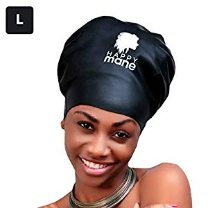 Waterproof Swim Cap Swimming Hairstyles Hair To Go Hair Shower Cap