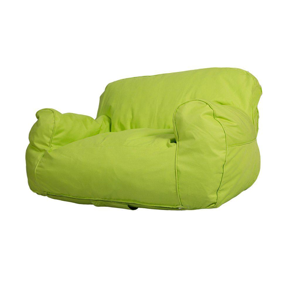 Dporticus Mini Lounger Sofa Bean Bag Chair?Selfrebound Sponge Double Child  Seat 35.4 X 19.7