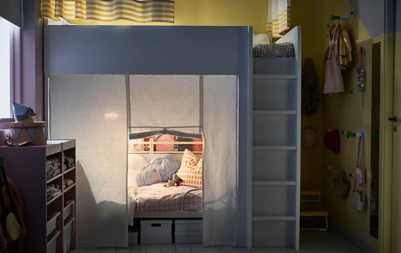 Privatsphäre in geteiltem Kinderzimmer (mit Bildern