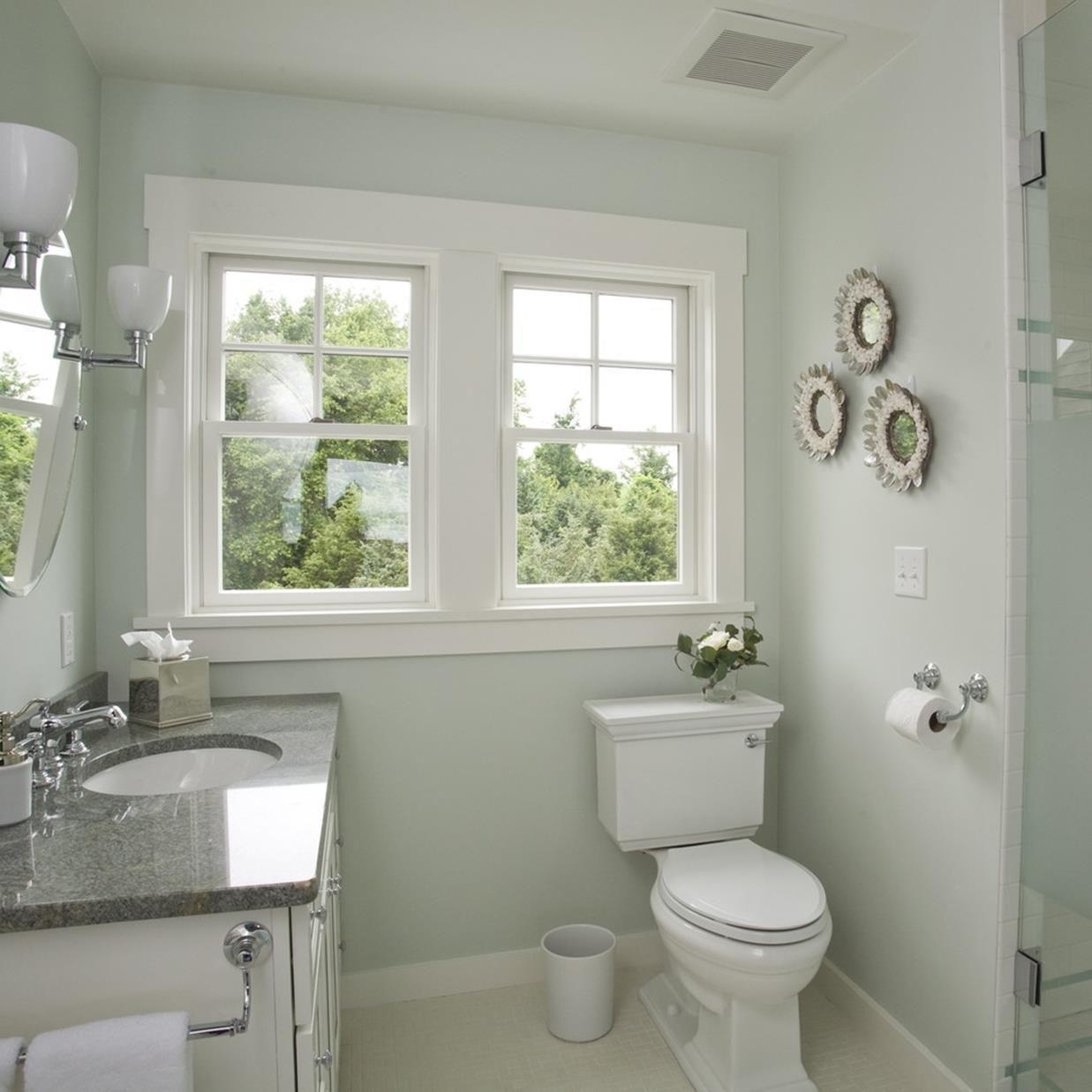Best Paint Colors For Small Bathrooms 32 Decorecord Small Bathroom Paint Small Bathroom Colors Bathroom Color Schemes