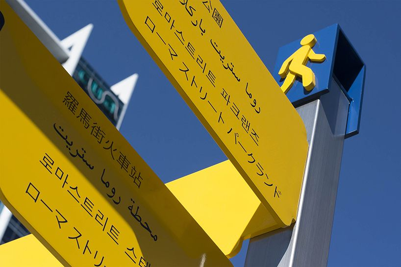 foreign language wayfinding signs by dotdash Signs