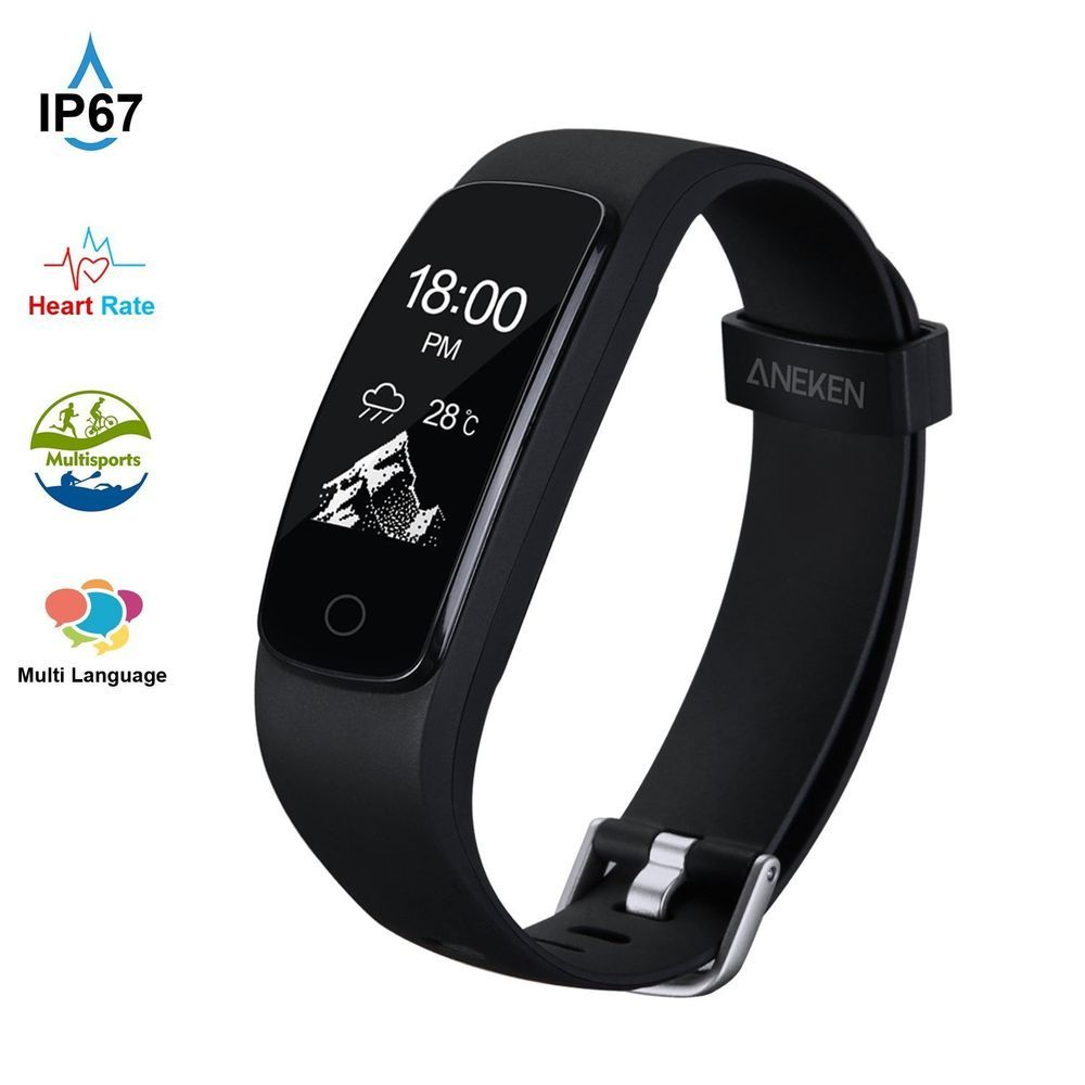 Fitness Tracker HR Aneken Activity Tracker with Heart Rate