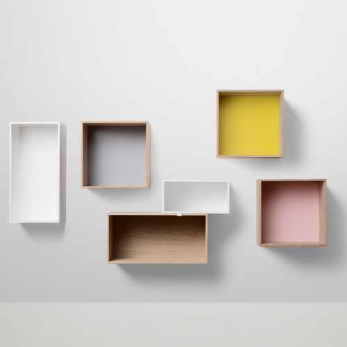 stacked shelf system closed back muuto from 89. Black Bedroom Furniture Sets. Home Design Ideas