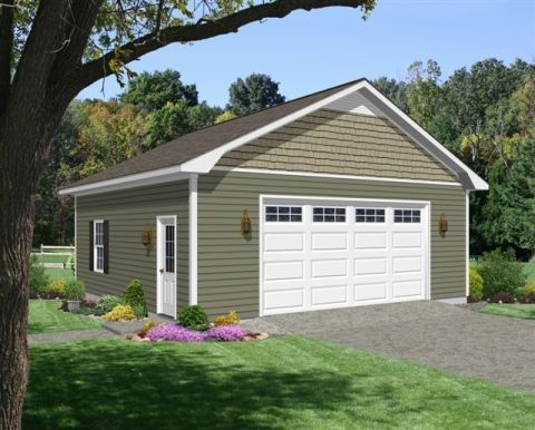 Series 805 14 One Story Garage With One Garage Door Frame Construction 10 Foot Garage Garage Ideas G In 2020 Garage Doors Vinyl Lap Siding Backyard Garage