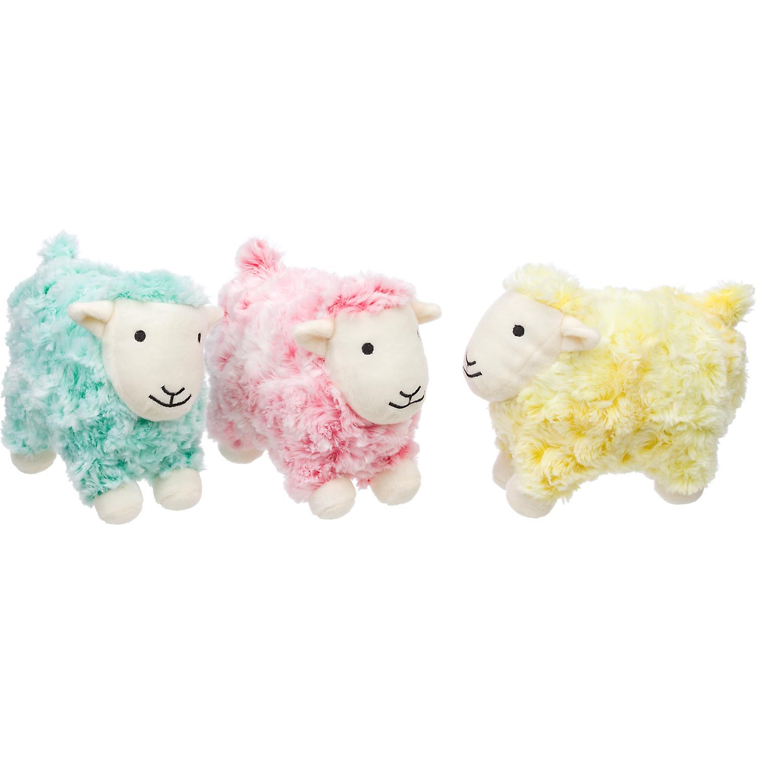Petco Swirly Frosted Sheep Plush Dog Toy For Missy 3 Dog Toys