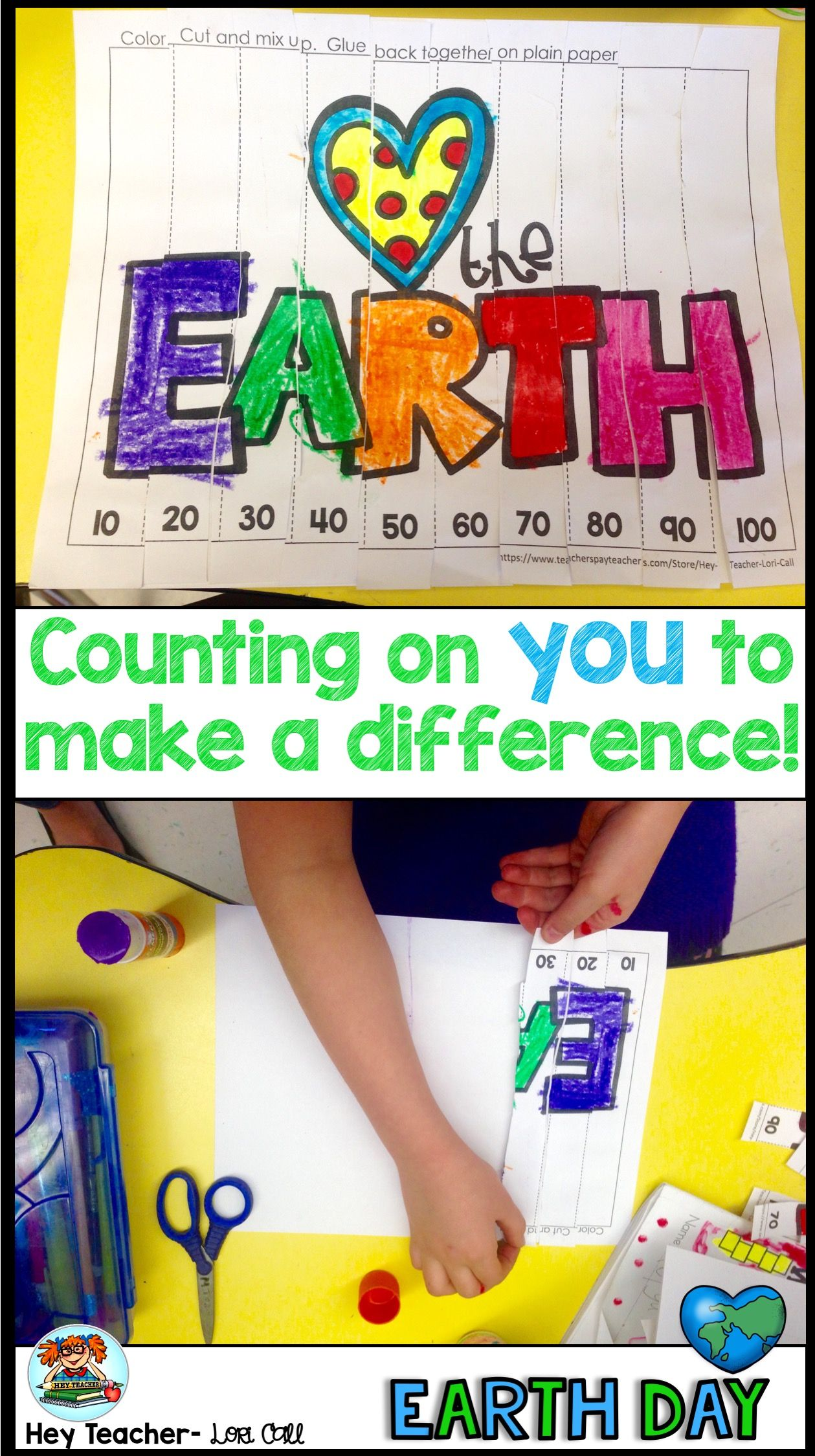 Earth Day Crafts And Activities For Kindergarten 1st