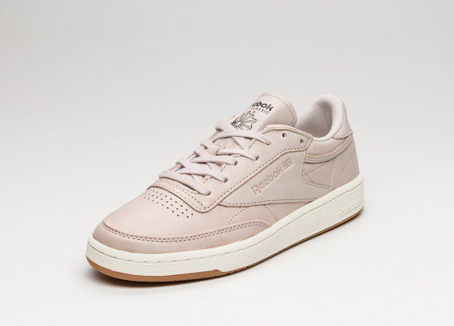 Reebok Club C 85 *Golden Neutrals* (Rose Gold / Moon White / Chalk / Lead - Gum)