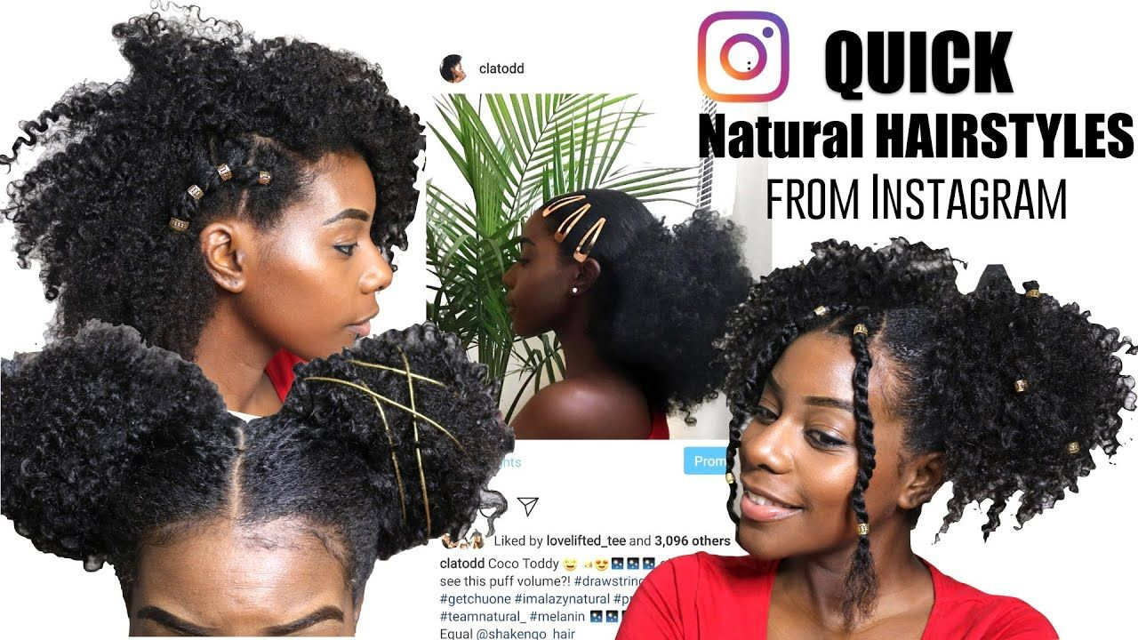 Natural Hairstyles For Type 4 Hair In 2019 Instagram Inspired