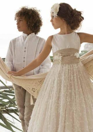 Vestido comuni n rubio kids kommunion kommunion kinder kleider und kleidung - Festliche kleider kommunion ...