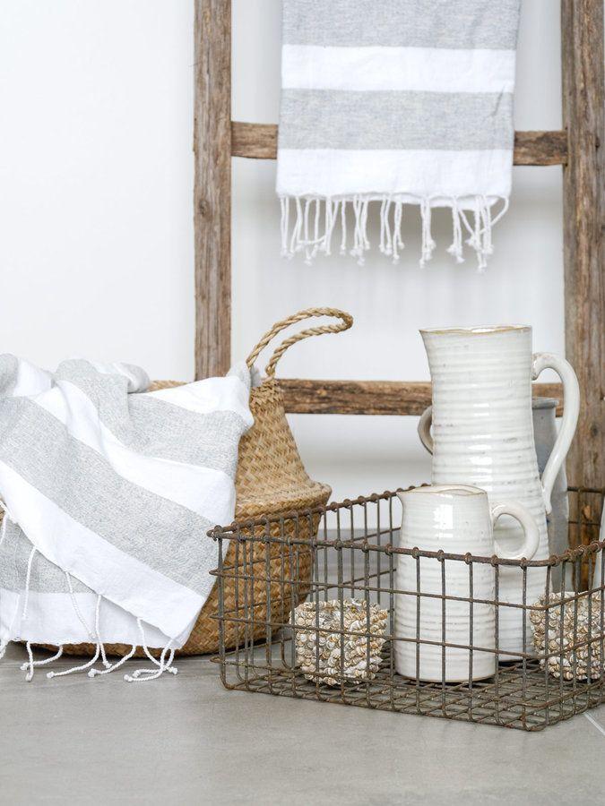 Naturlich Schone Accessoires Fur Ein Wohnliches Badezimmer