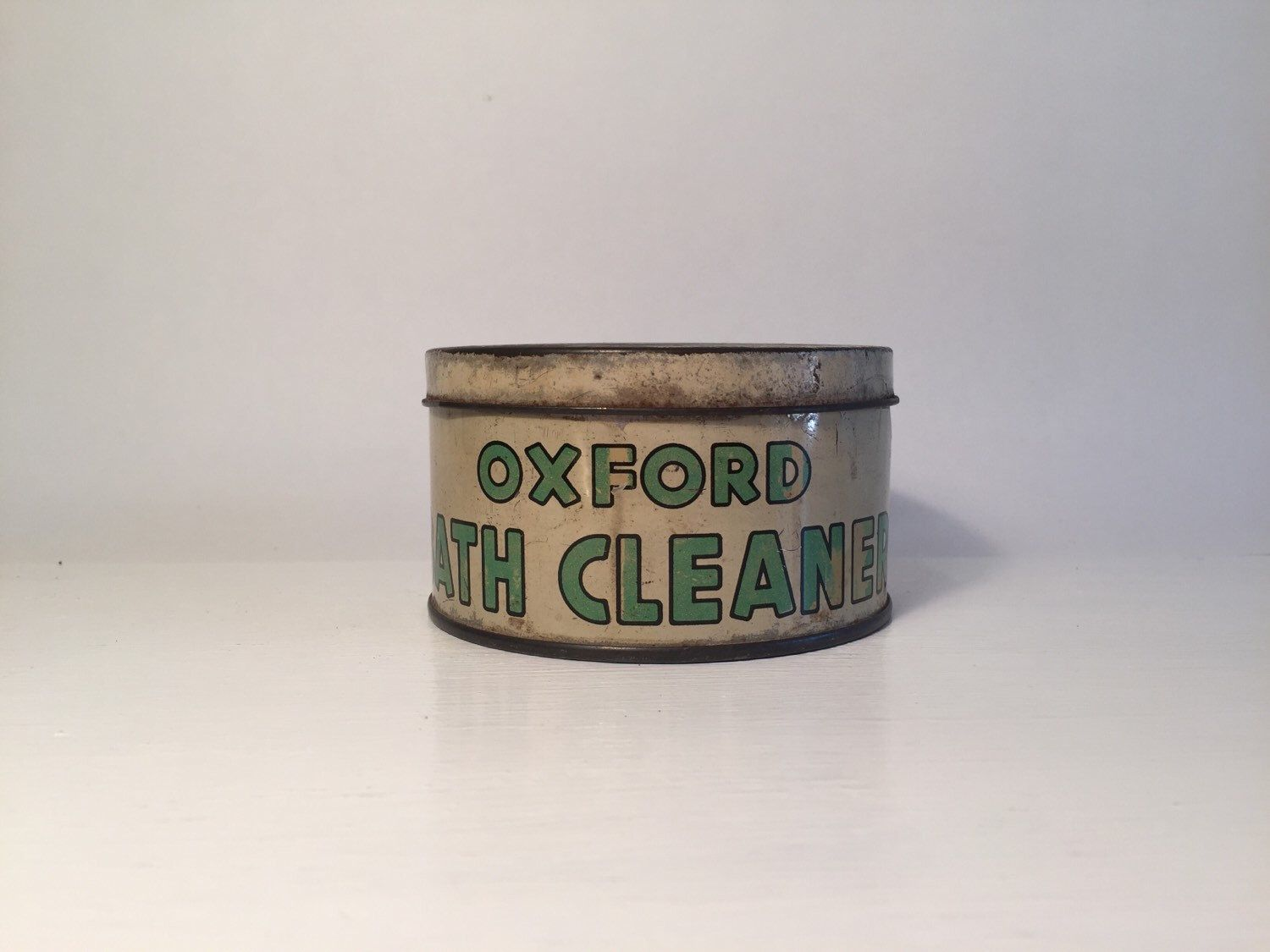A personal favourite from my Etsy shop https://www.etsy.com/au/listing/398346329/vintage-oxford-bath-cleaner-collectable