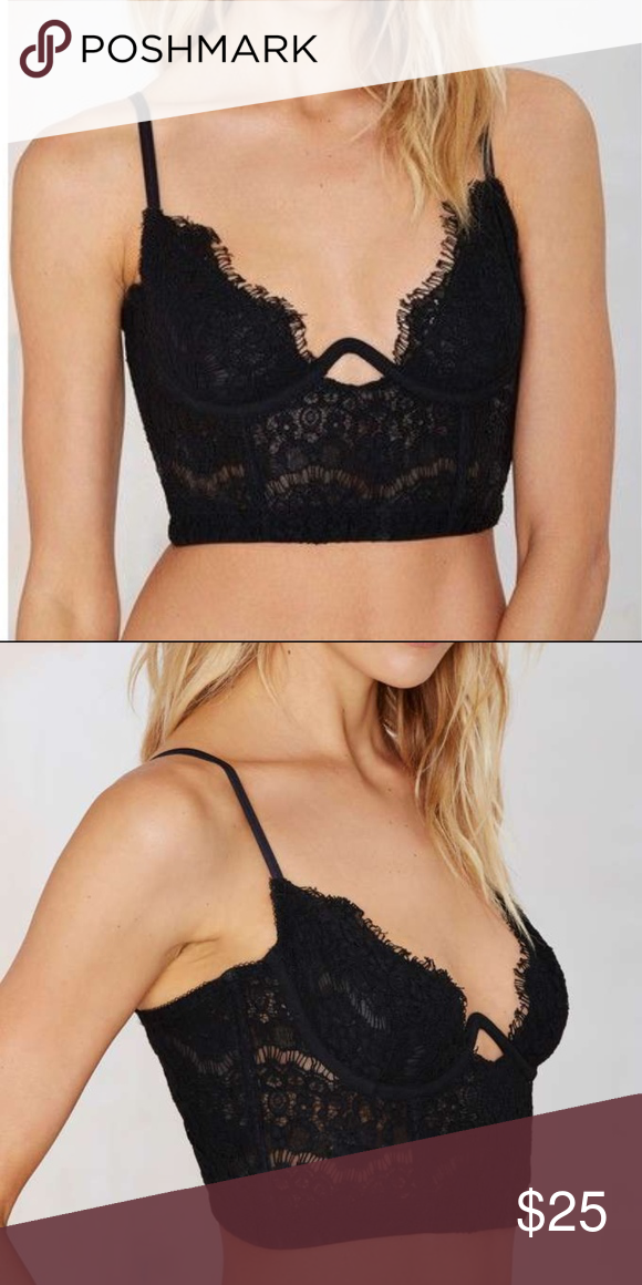 7a4b8a2d3b8a2 Nasty Gal Sonia Lace Bra This one s too good to keep undercover. The Sonia  Bra
