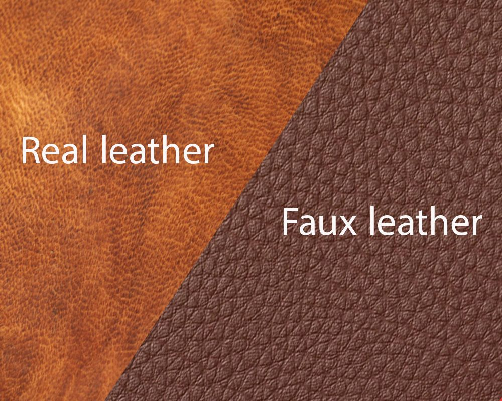 What Is Faux Leather And Faux Leather Vs Real Leather Faux Leather Real Leather Faux
