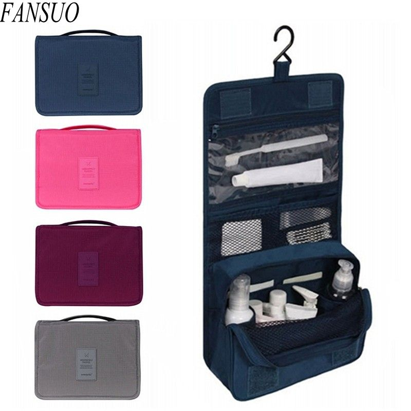 7846a3aa7c Women Travel Cosmetics Organizer Beautician Cosmetic Bag Men Large  Necessaries Waterproof Nylon Make Up Case Wash