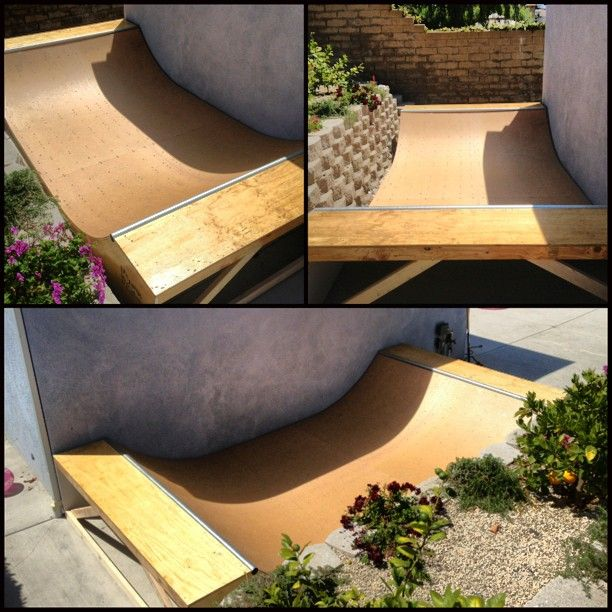 Just Finished This 2' Tall Garage Mini Ramp With Skatelite