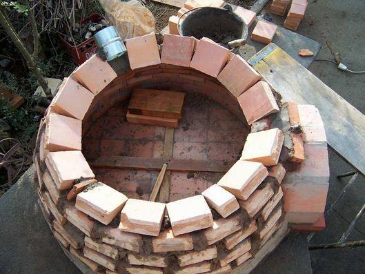 Como hacer un horno de barro paso a paso cosas raras - Construccion barbacoa paso a paso ...