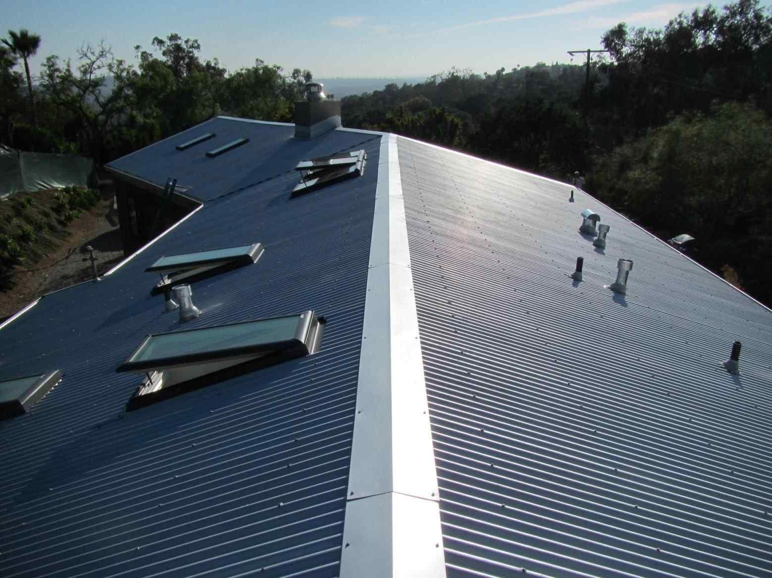 Galvanized Standing Seam Metal Roof Metal roof, Metal