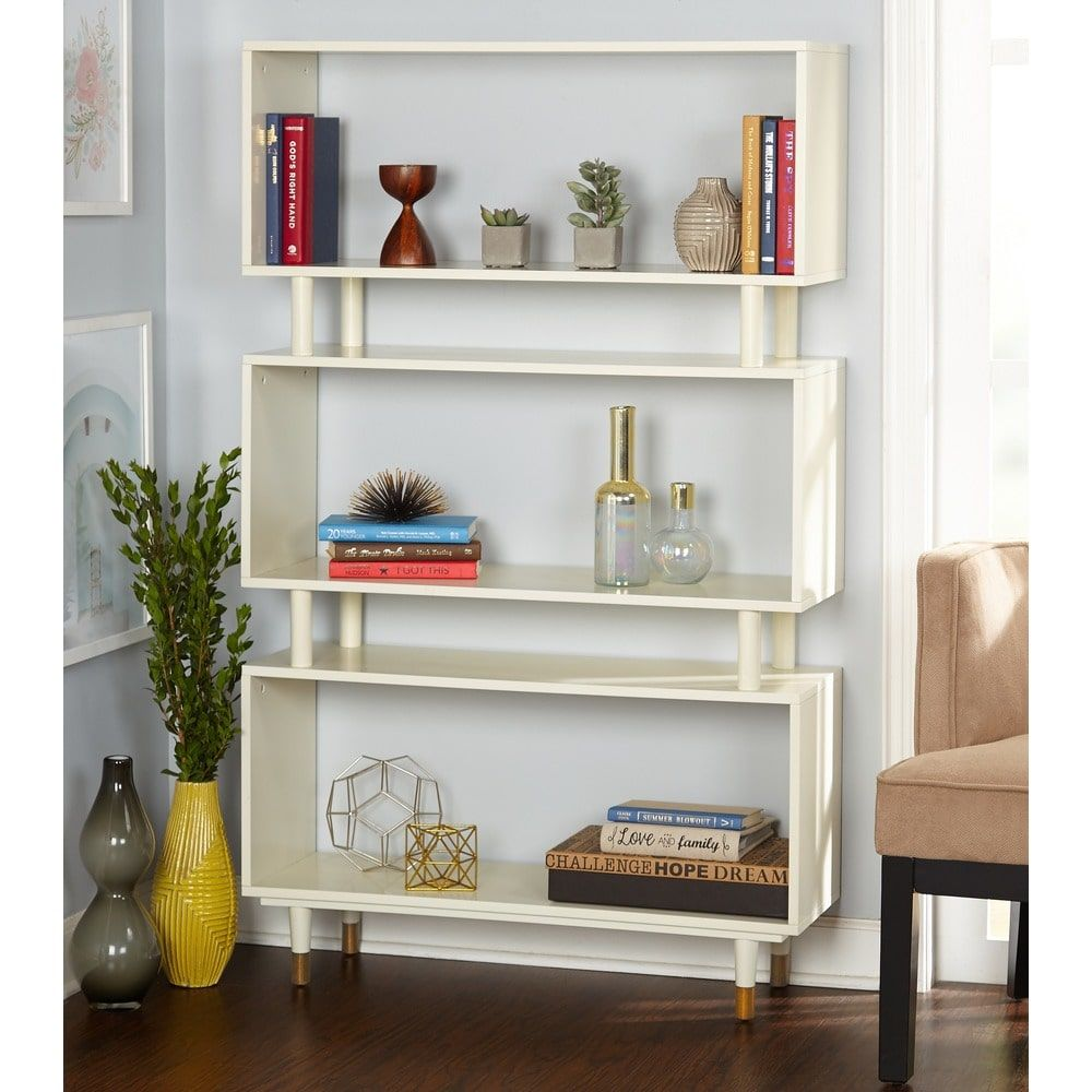 organizer stackable closetmaid bookcases shelf ebay bookcase white