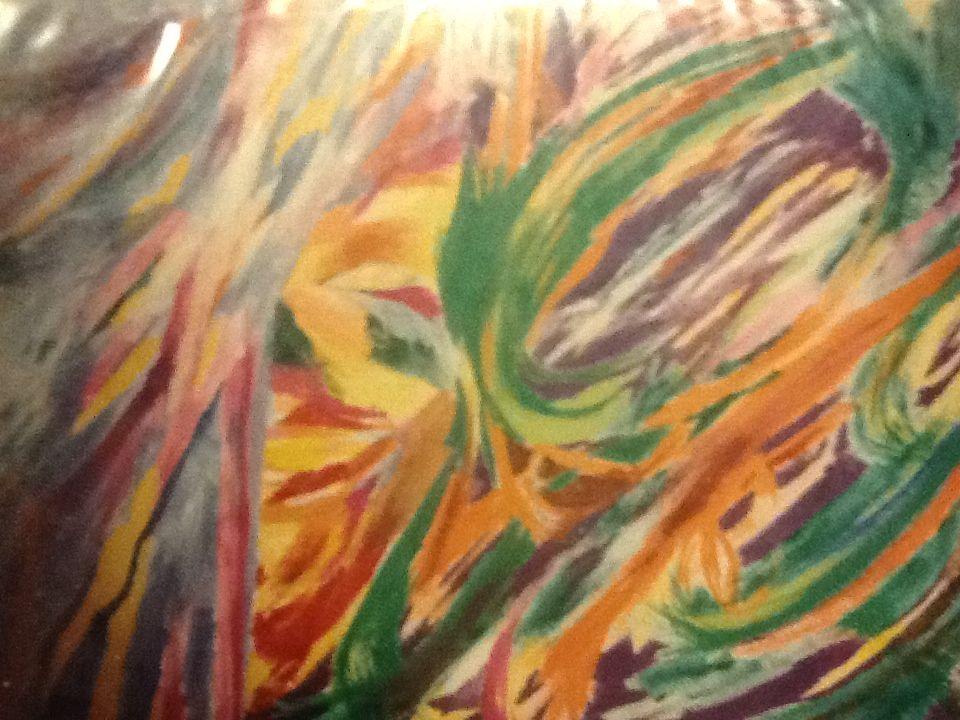 Spiritual Healing Painting by Tilarenn