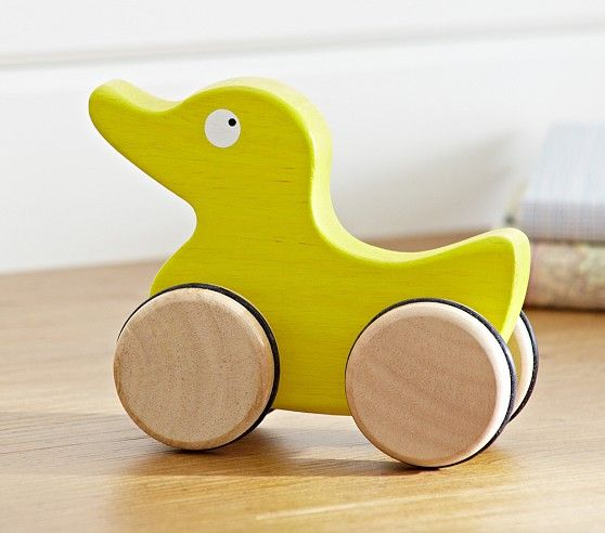 Duck Push Toy Push Toys Toys Pottery Barn Kids