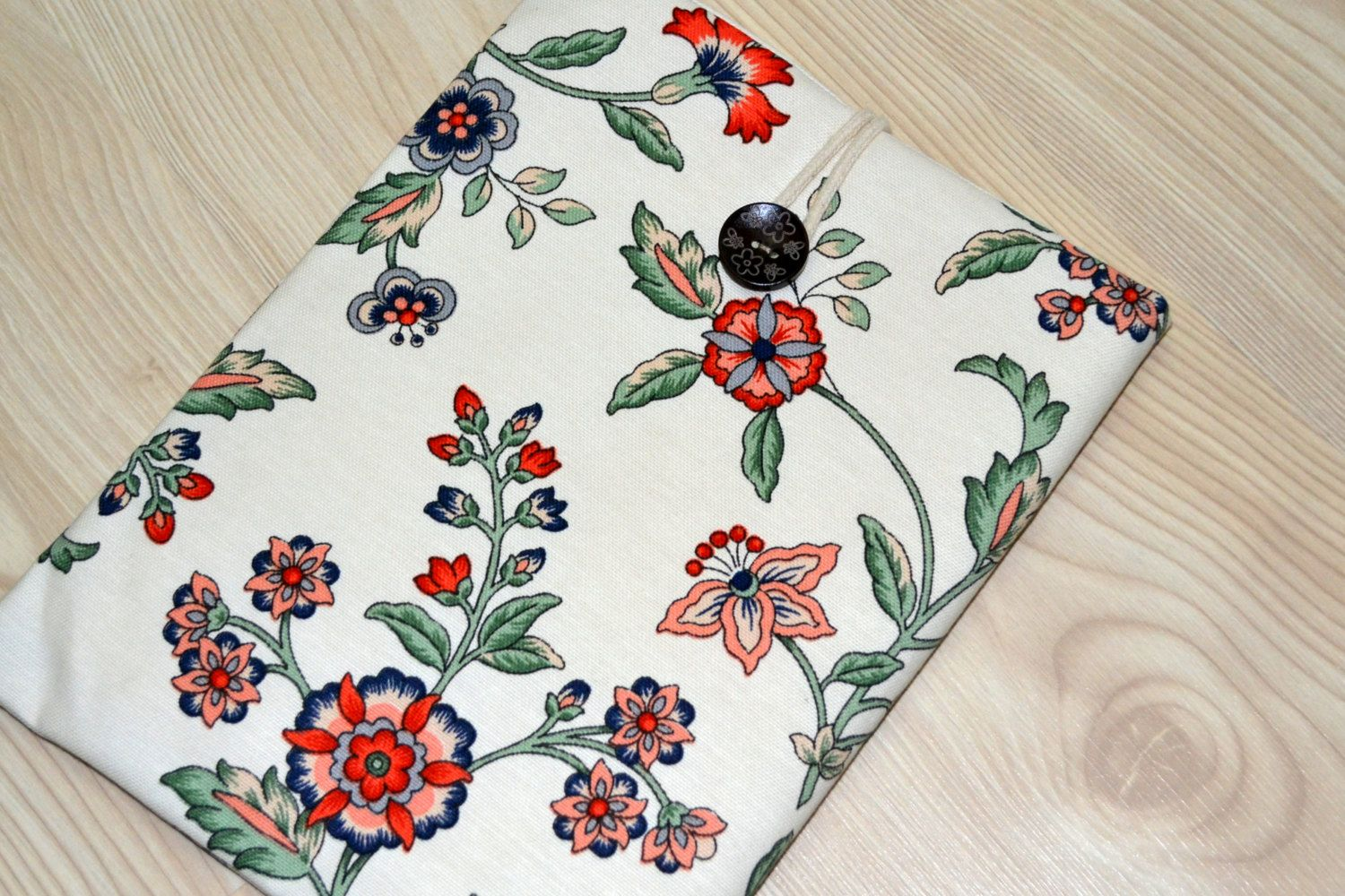 "kindle oasis sleeve, kindle paperwhite case, Custom Fit for Any 6""-8"" Tablet- Floral by RCRAFTSS on Etsy"