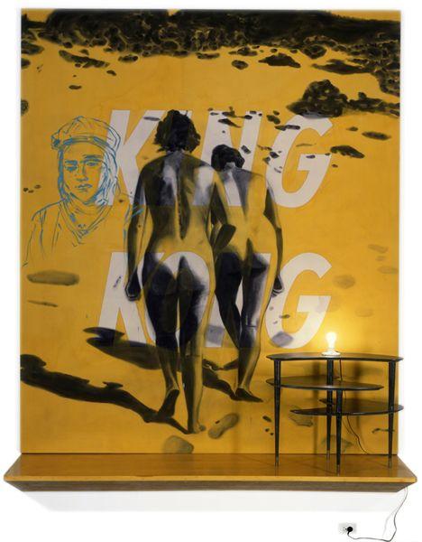 David Salle   King Kong, 1983