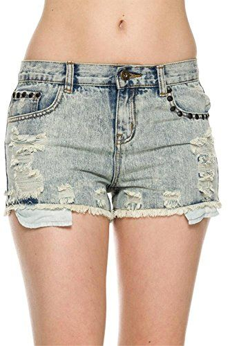 Denim Short Shorts for Women
