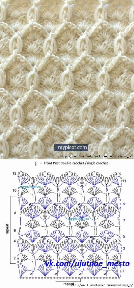 This Pin was discovered by Daw | Crochet Stitches | Pinterest ...