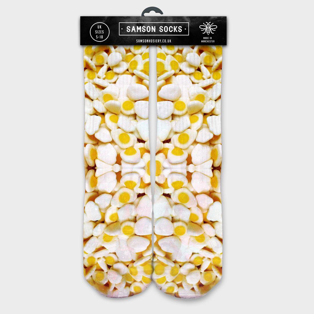27fff2c72e44 Custom Haribo Eggs Socks