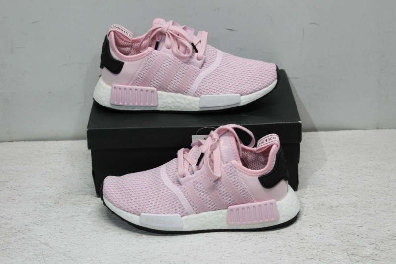 Adidas Women's 6.5 NMD R1 Sneaker Clear PinkCloud White