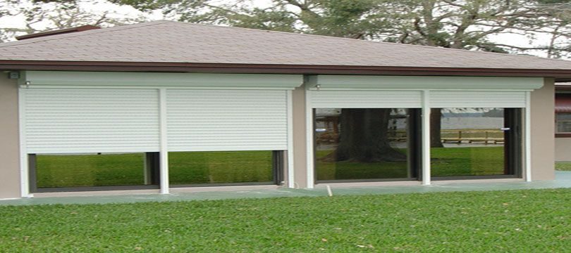 Roll Down Hurricane Shutters In Brevard County Florida