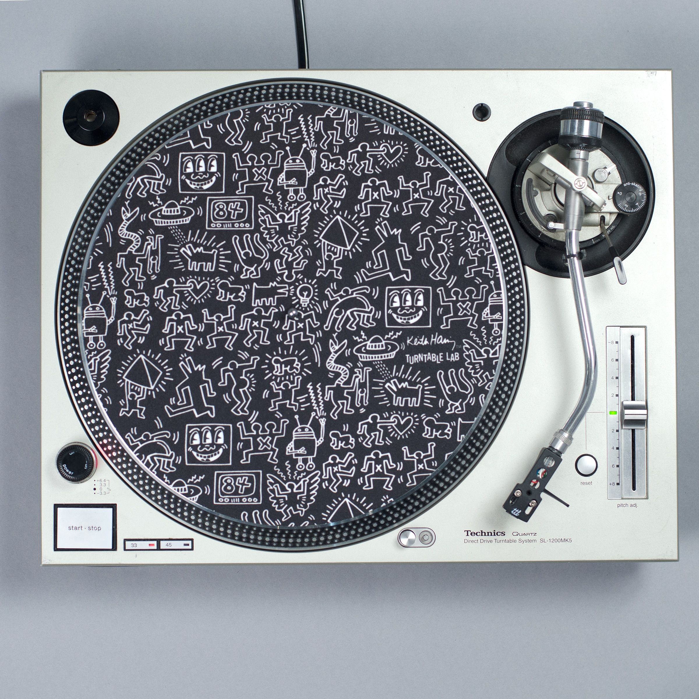 Keith Haring X Turntable Lab Collection Record Mat 2017 Slipmats Record Collectors Turntable