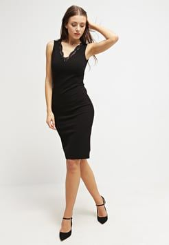 031a0b1276e433 Dorothy Perkins - Jerseykleid - black Kleines Schwarzes Kleid, Das Kleine  Schwarze, Kleider,