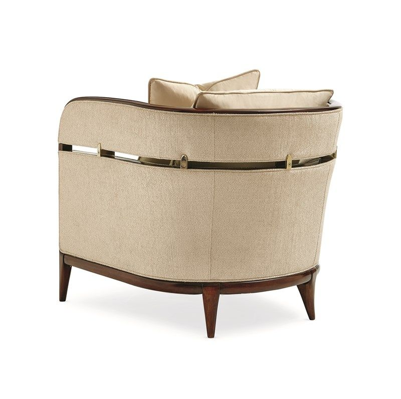In A Different Bracket Caracole Barrel Chair Chair