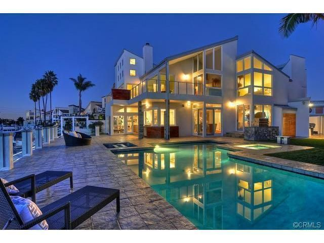 Huntington Beach Water Front Home