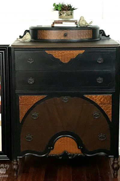Painted Dresser-Antique