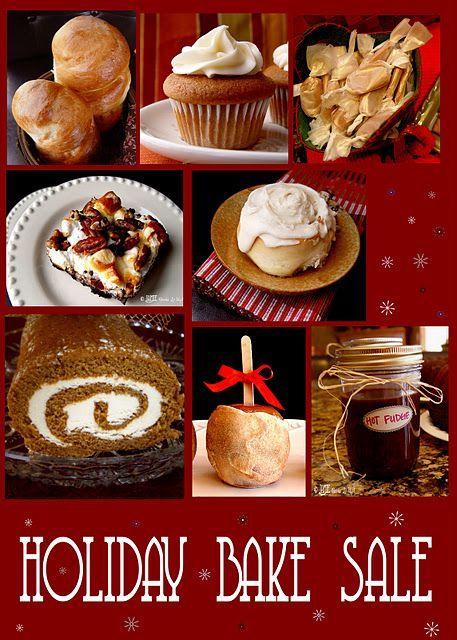 Holiday Bake Sale 2011 #bakesaleideas Great ideas for yummy Holiday Baking and Cooking. #bakesaleideas