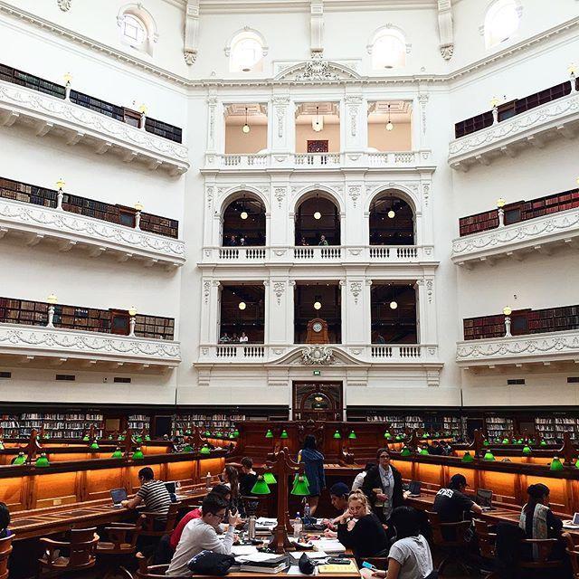 Государственная Библиотека Виктории в Мельбурне (Австралия)